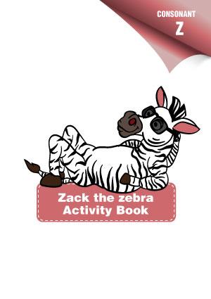 Consonant-Z-Activity-Book